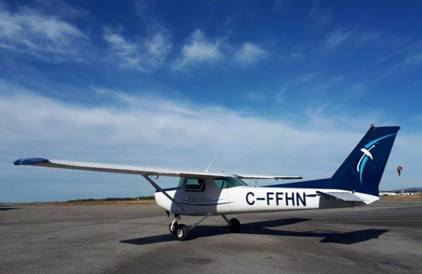 Exactair Cessna 152 nouvellement peinturé.