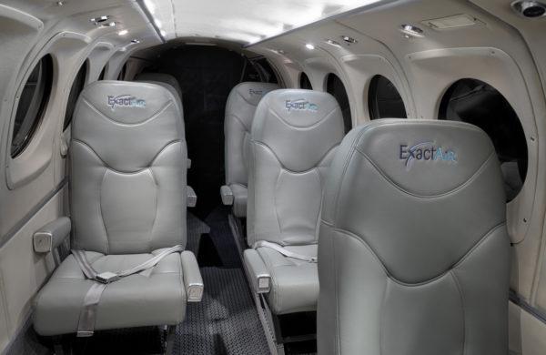 King Air Exactair, intérieur refait à neuf.